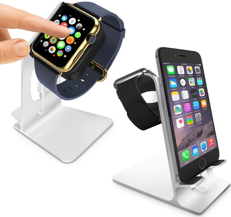 Station de recharge Orzly pour iPhone et Apple Watch