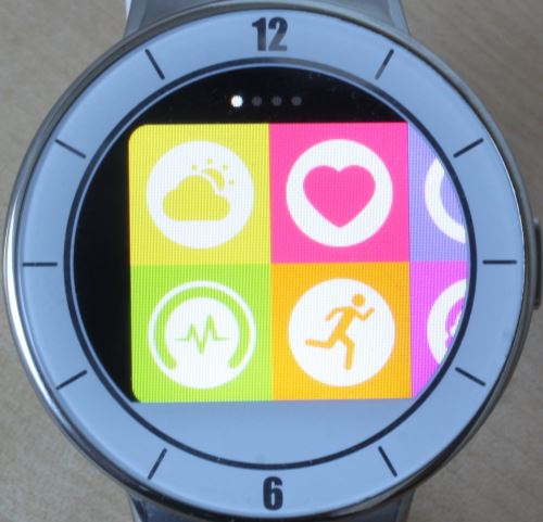 Alcatel OneTouch Watch (applications 1)