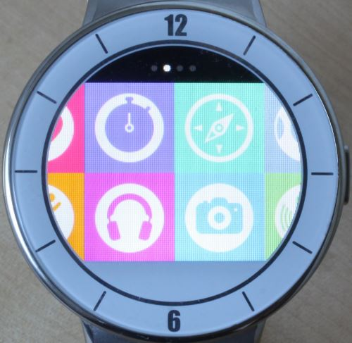Alcatel OneTouch Watch (applications 2)