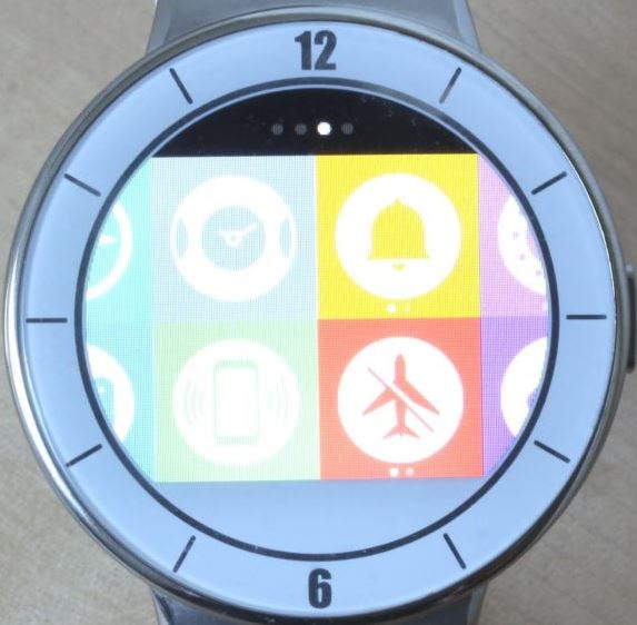 Alcatel OneTouch Watch (applications 3)