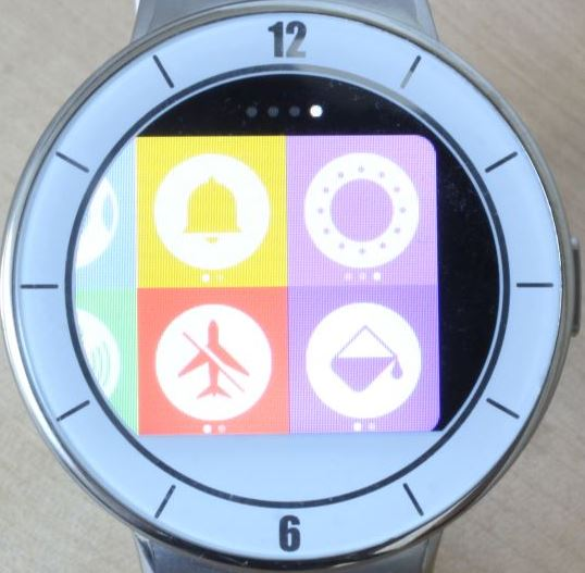 Alcatel OneTouch Watch (applications 4)