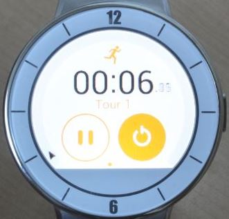 Alcatel OneTouch Watch (chronomètre)