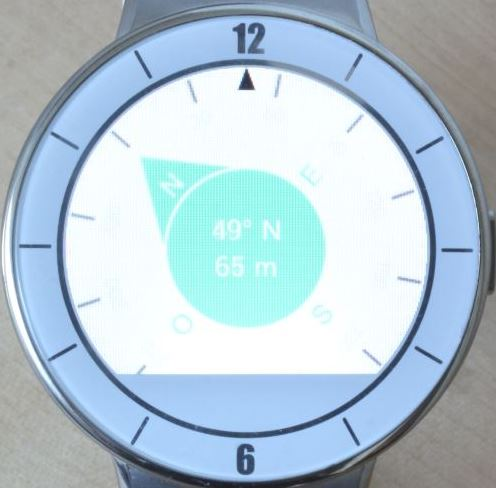 Alcatel OneTouch Watch (bousolle)