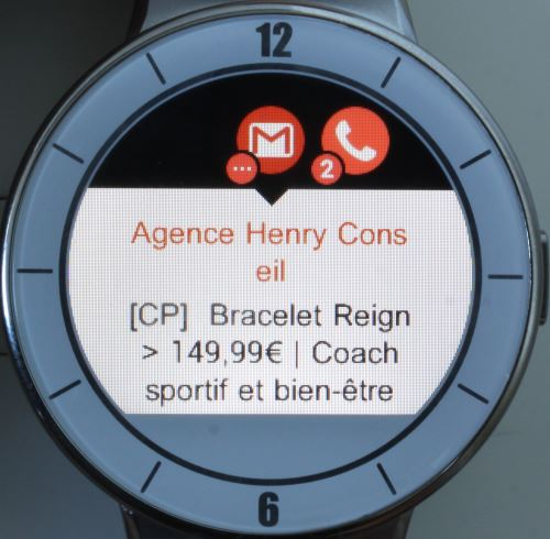Alcatel OneTouch Watch (gmail)
