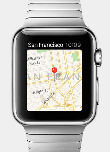 Apple Watch (Maps)