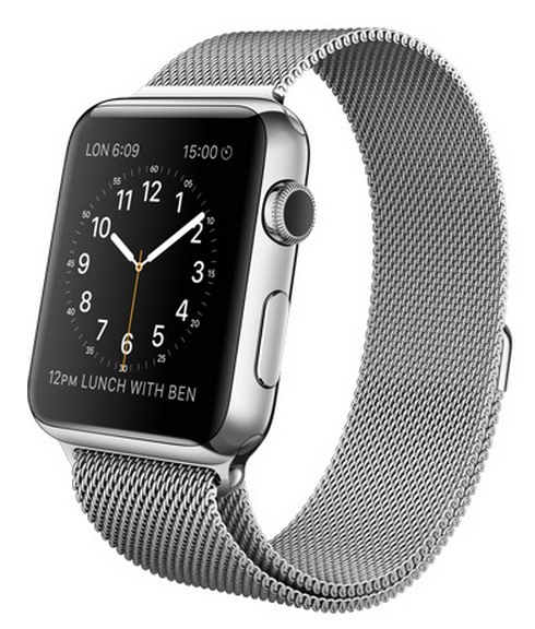 Apple Watch (bracelet acier 2)