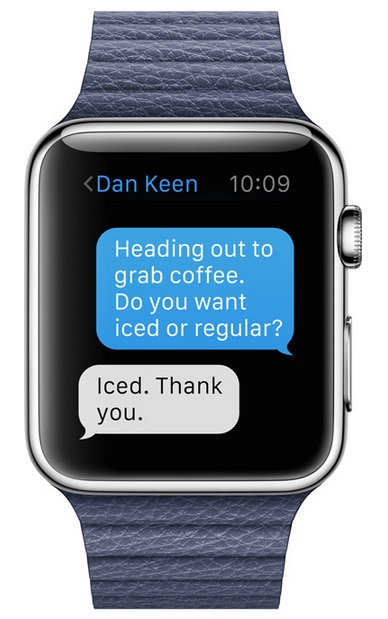 Apple Watch (SMS)