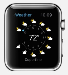 Apple Watch (météo)