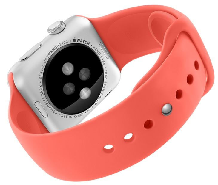 Apple Watch (Cardiofréquencemètre)