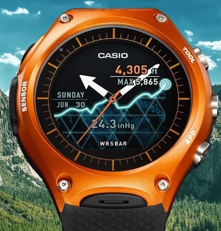 Casio Smart Outdoor Watch WSD-F10 (orange)
