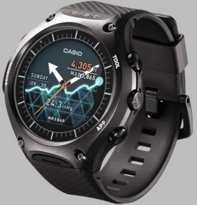 Casio Smart Outdoor Watch WSD-F10 (noire)
