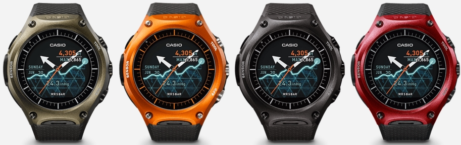 Casio Smart Outdoor Watch WSD-F10 (4 couleurs)