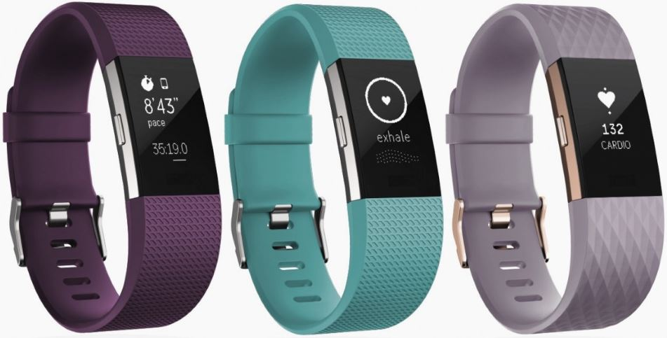 Fitbit Charge 2 (couleurs disponibles)