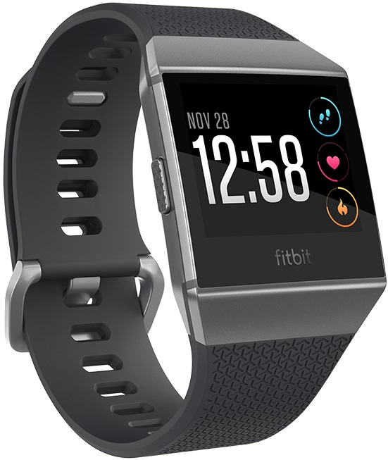 Fitbit Ionic (gris graphite)