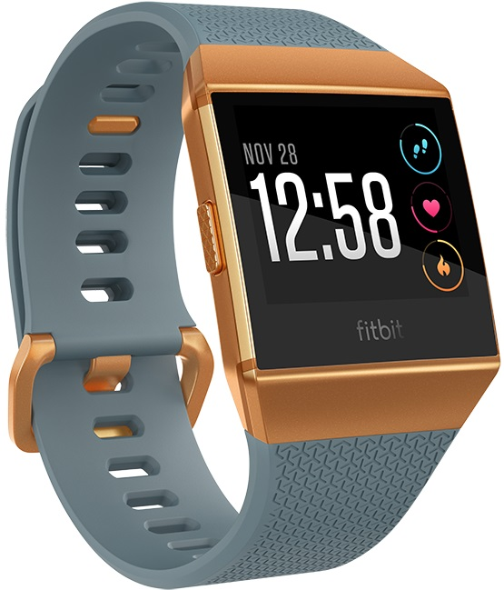 Fitbit Ionic (bleu / orange)