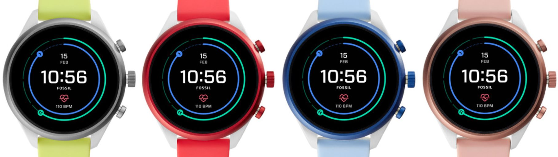 Fossil Sport (4 couleurs)