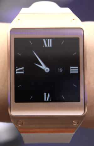 Galaxy Gear (cadran)