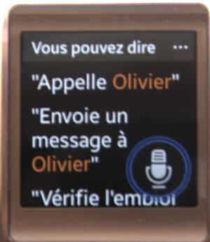 S-Voice sur Galaxy Gear (2)