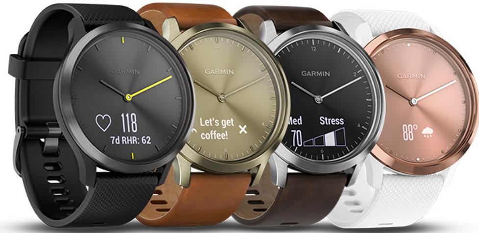 Garmin Vivomove HR (différentes versions)