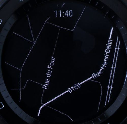 Huawei Watch 2 (Google Maps en veille)