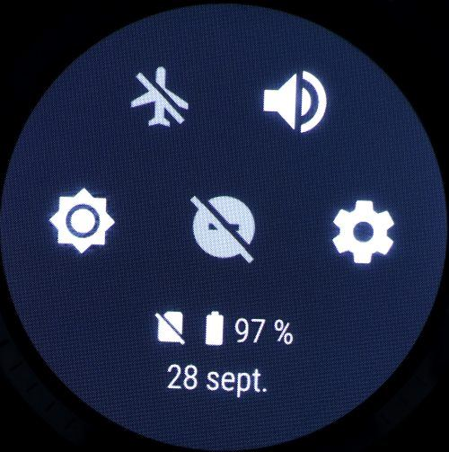 Huawei Watch 2 (Volet supérieur)