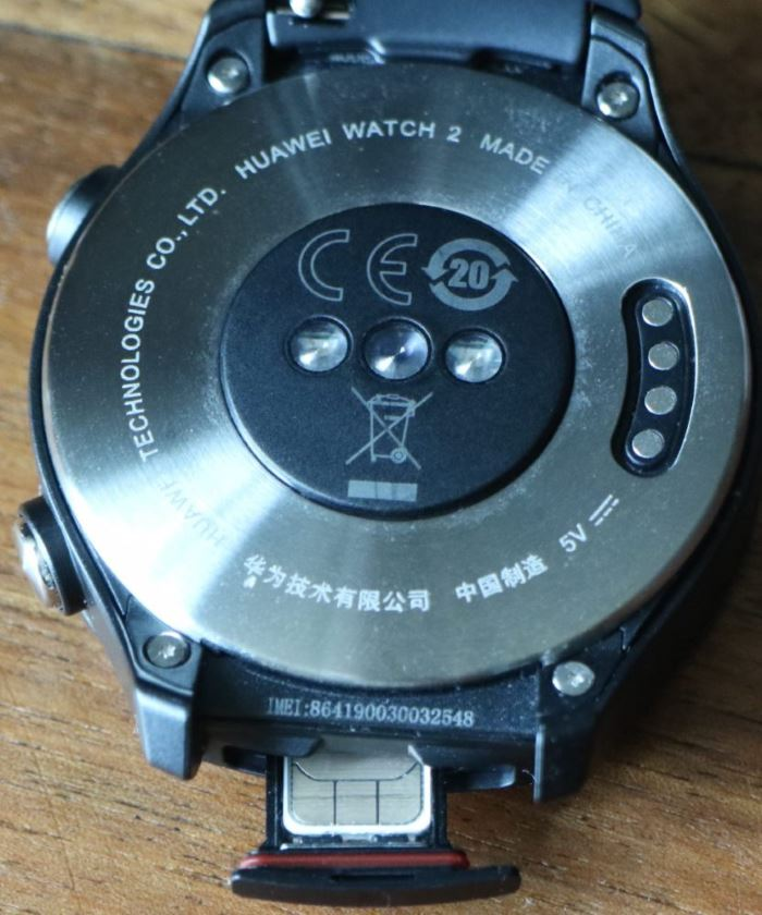 Huawei Watch 2 (carte nanoSIM)