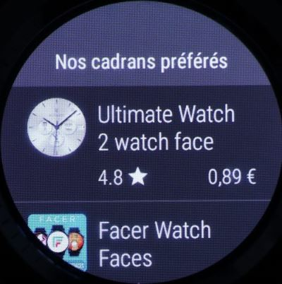 Huawei Watch 2 (cadrans sur le Play Store)