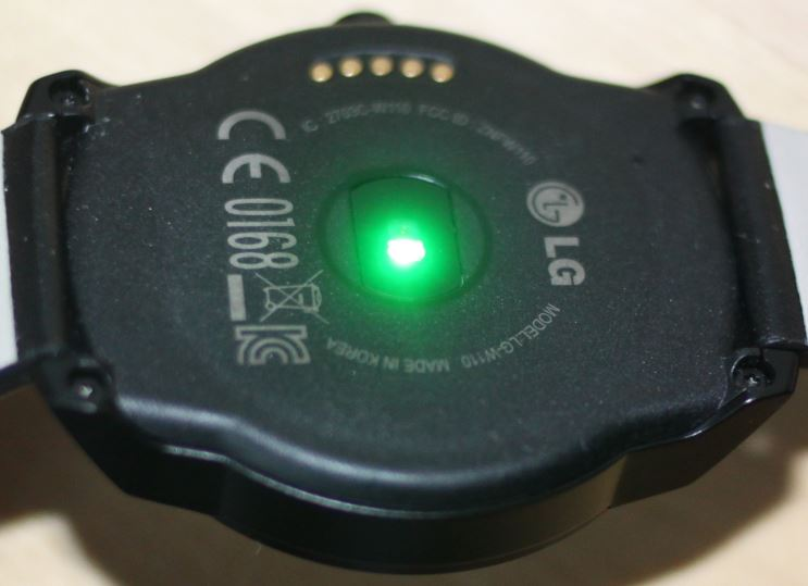 LG G Watch R (cardiofréquencemètre 1)