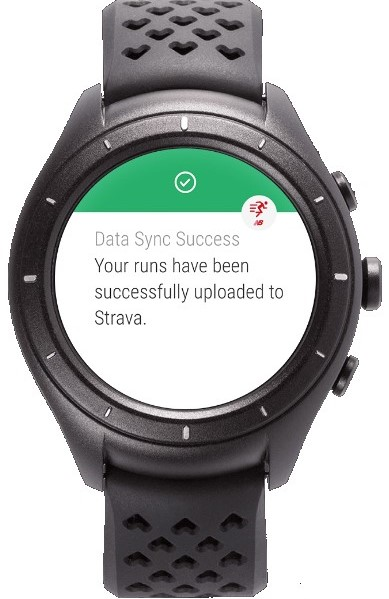 New Balance IQ sous Android Wear