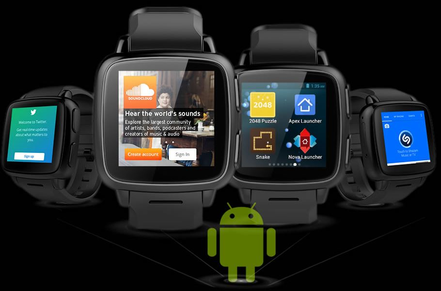 Omate TrueSmart+ sous Android