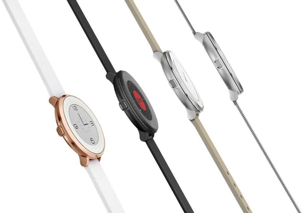Pebble Time Round (tranche, 4 versions)
