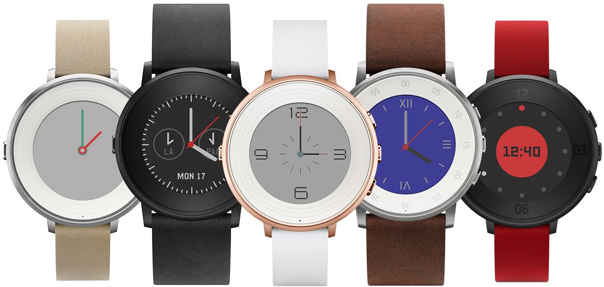 Pebble Time Round (5 couleurs)