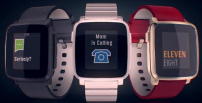 Pebble Time Steel (3 couleurs)