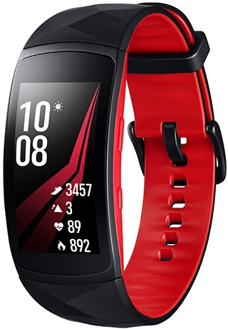 Samsung Gear Fit 2 Pro rouge