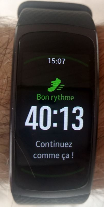 Samsung Geat Fit 2 (encouragement)