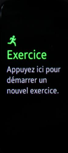 Samsung Geat Fit 2 (exercice 2)