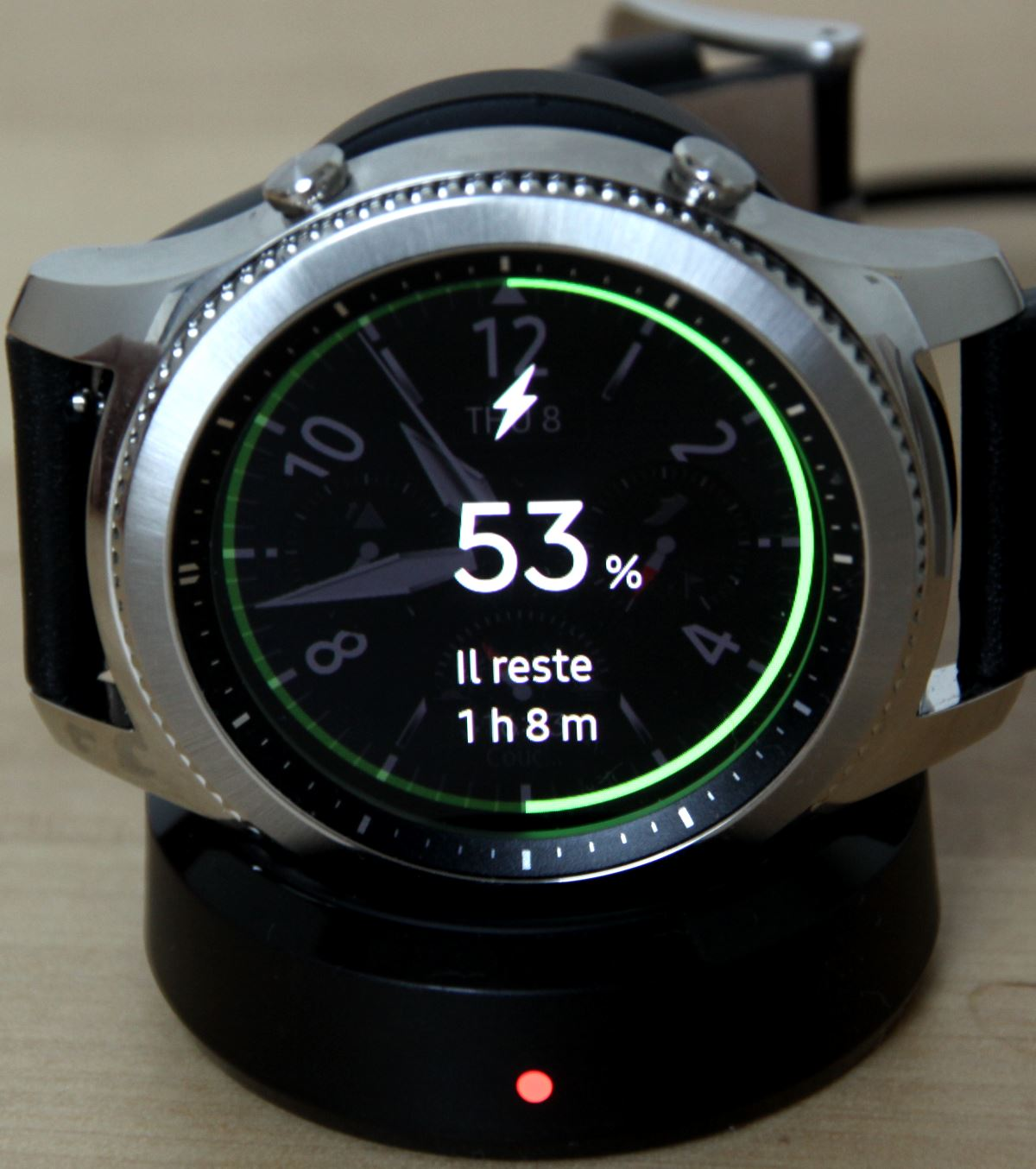 Samsung Gear S3 (station de chargement sans contact)