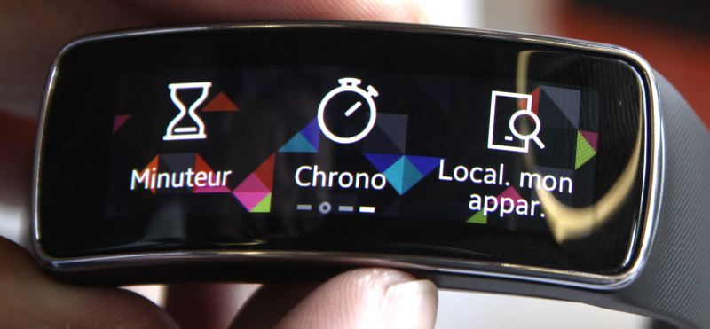 Samsung Gear Fit (applications)