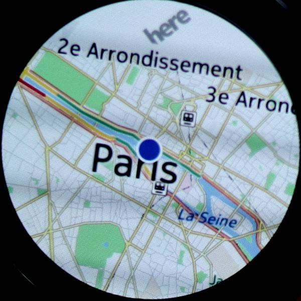 Samsung Gear S2 (Maps)