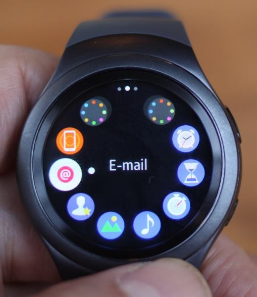 Samsung Gear S2 (e-mail)