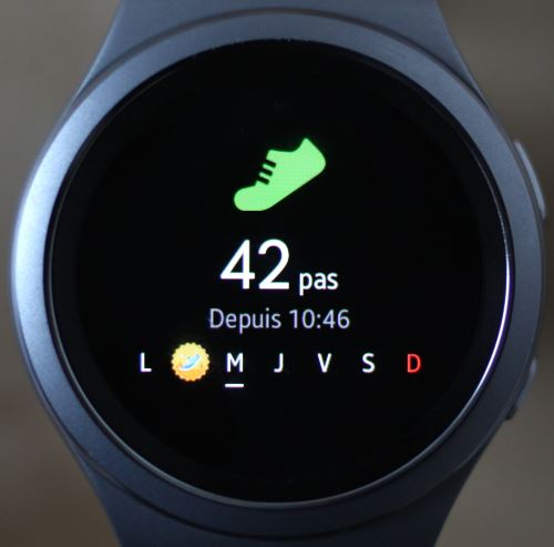 Samsung Gear S2 (application 1)