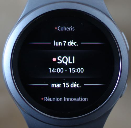 Samsung Gear S2 (application 3)