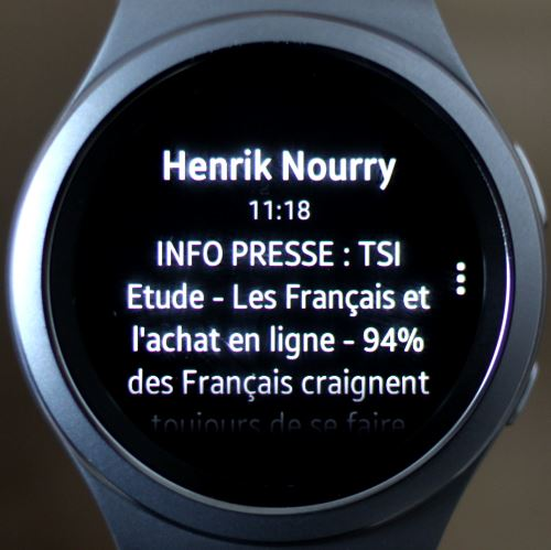 Samsung Gear S2 (notification 2)