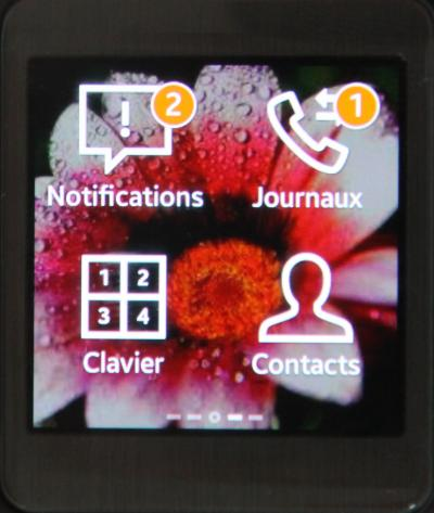 Gear 2 Lite (notifications et appels)