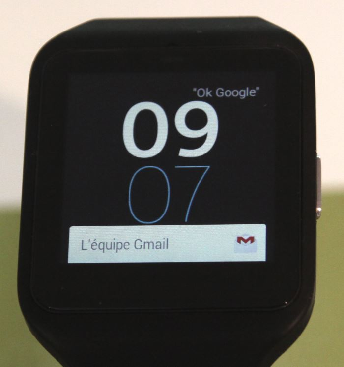 Sony Smartwatch 3 (notification)