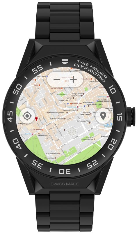 Tag Heuer Connected Modular 45 (Maps)