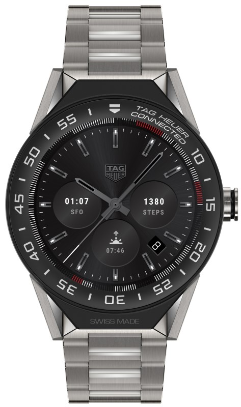 Tag Heuer Connected Modular 45 (acier)