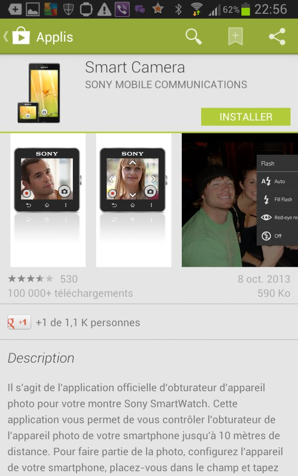 apps APN smartwatch 2 sur Galaxy Note