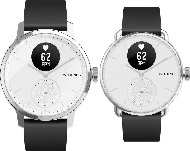 Withings Scanwatch (deux tailles)