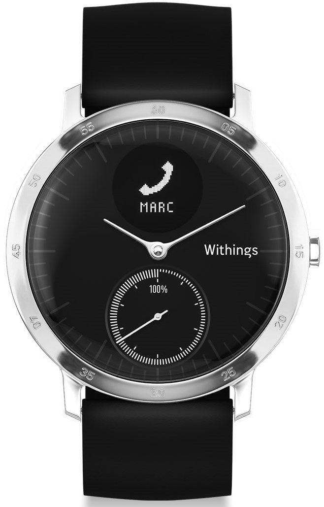 Withings Steel HR  noire 40 mm